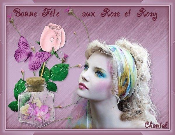 BONNE  FÊTE  AUX  ROSE  ET  ROSY